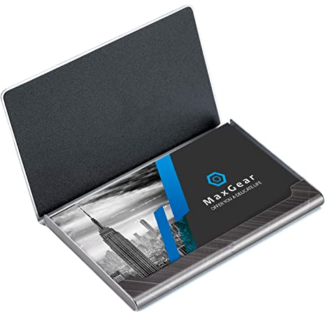 Professional Stainless Steel Business Card Holder Card Case for Men and Women