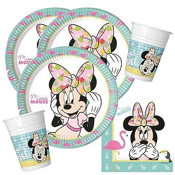 PROCOS Minnie Mouse - Juego de Fiesta de 36 Piezas - Minnie ...