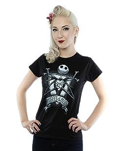 Disney Women's Nightmare Before Christmas Misfit Love T-Shirt X-Large Black
