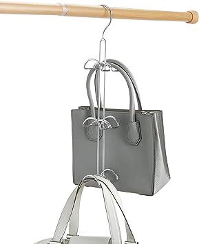 Amazon.com: iDesign Axis Metal Hook Hanger, No Snag Closet Organization  Storage Scarves, Men's Ties, Women's Shawls, Pashminas, Belts, Accessories,  Clothes, Handbag Holder: Home & Kitchen