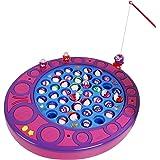 SGILE Giocattolo Set di Luce Colorata Musicale Elettrico e Pesca del Giocattolo Set Deluxe di Gioco magnetico di pesca Giocattolo Educativo