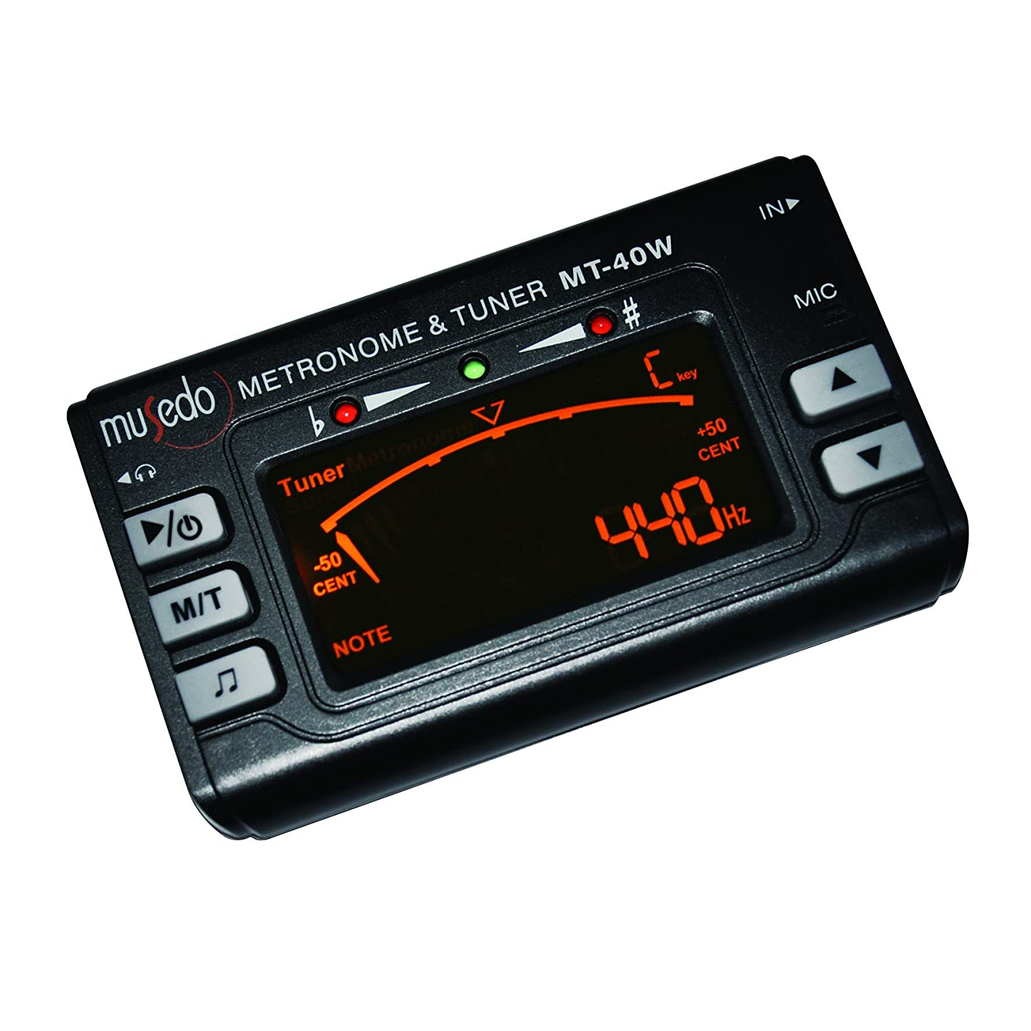 musedo mt 40w metronome tuner musical instruments