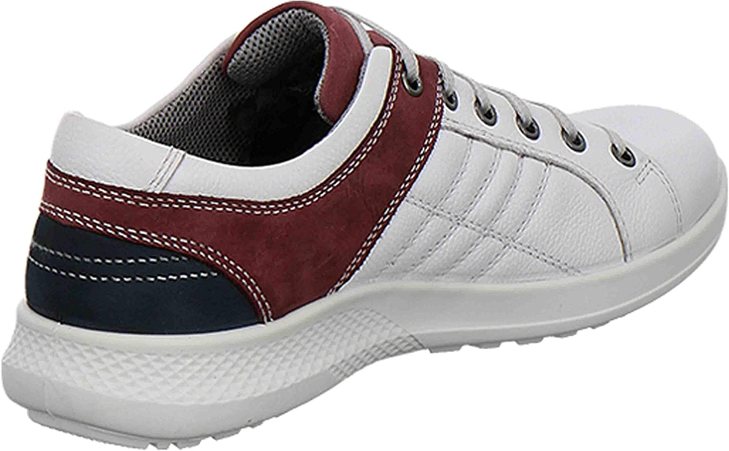 Jomos Campus II, Sneakers Basses Homme Multicolore Offwhite Oxblood 277 2044