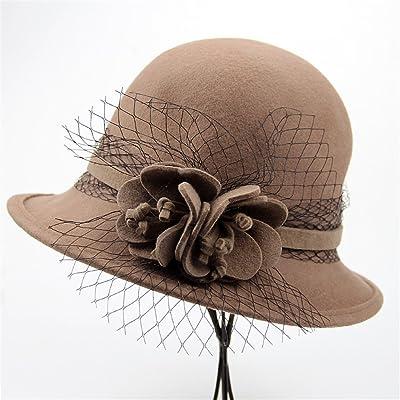 625beb4e5f2 Automne Et Hiver Femmes Fashion Dôme Chapeau Chapeau Élégant Windproof  Gardez Chaud ...