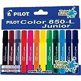 Caneta Hidrográfica, Pilot, Color 850-L Junior, 1420007JG01200, 12 Cores