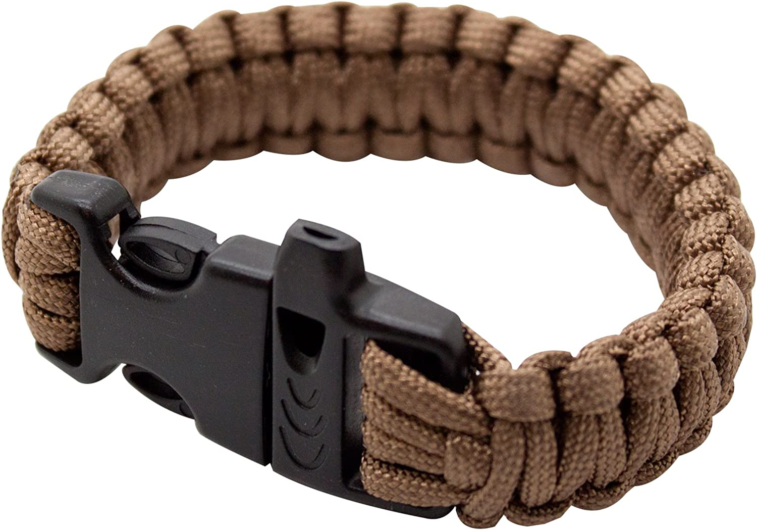 """2-PACK Braided 550 Paracord Bracelet Tactical Handle with 7//8/"""" Buckle USA Seller"""