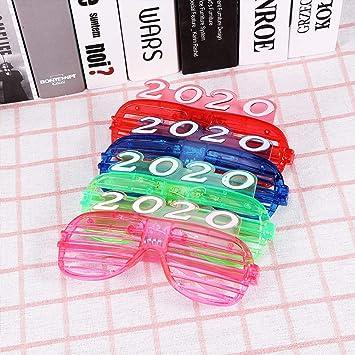 TOYANDONA 8 Piezas Gafas de obturación led 2020 Gafas de luz ...
