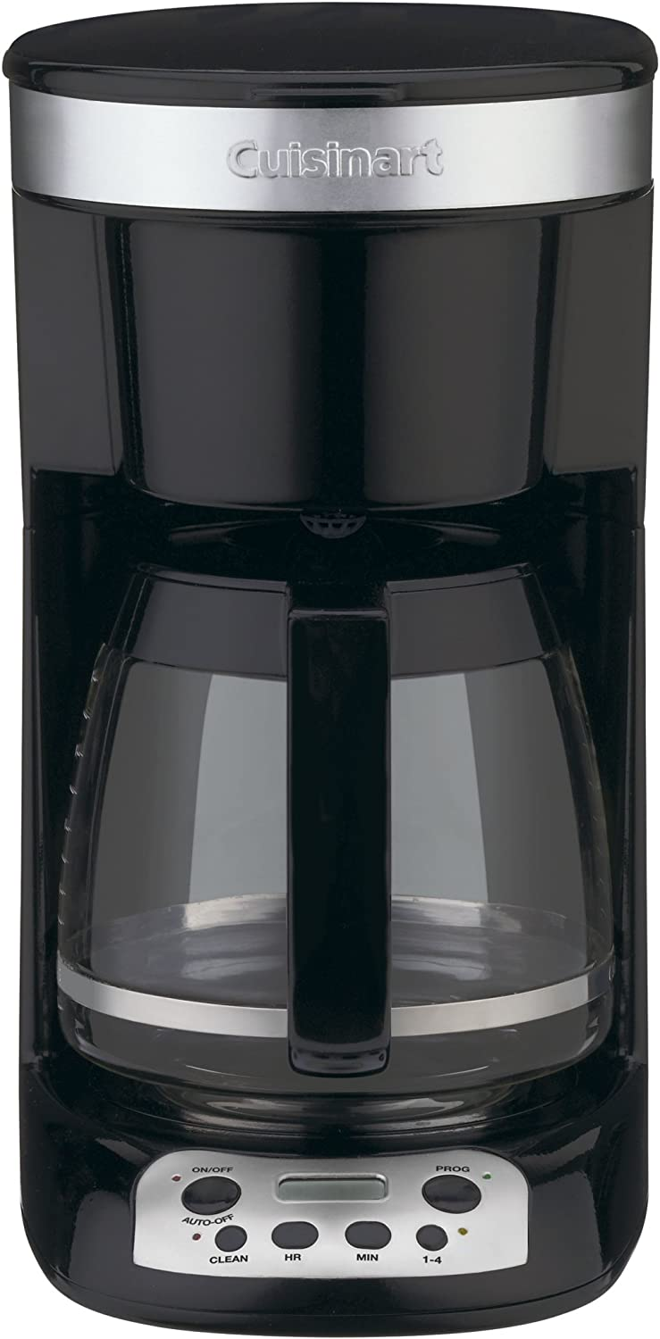 Amazon Com Cuisinart Dcc 750bk Flavor Brew 12 Cup Coffeemaker Black Drip Coffeemakers Kitchen Dining