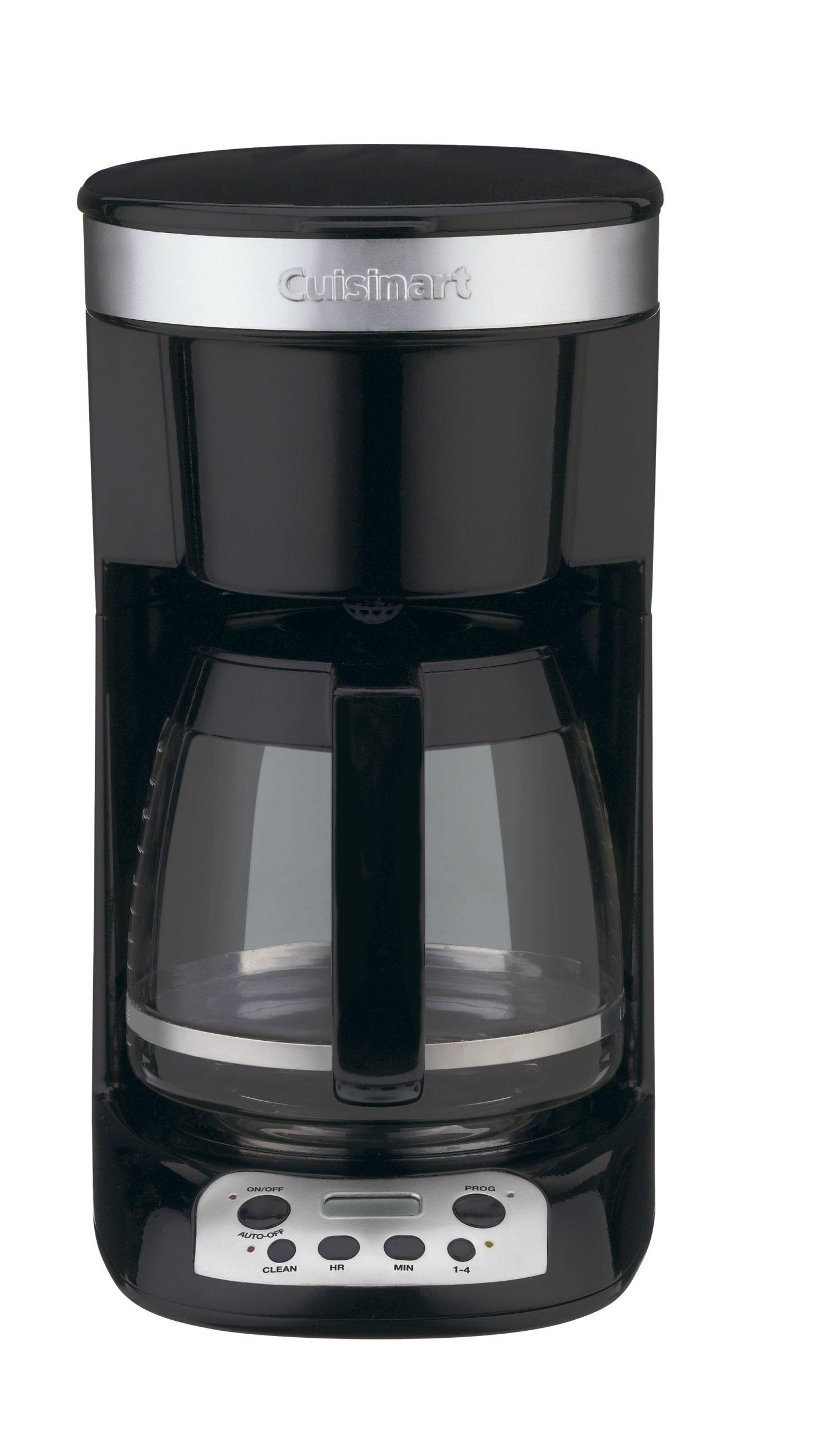 Cuisinart DCC-750BK Flavor Brew 12-Cup Coffeemaker, Black
