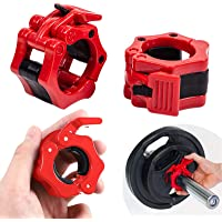1 Paar Olympic Barbell Clamp Quick Release Barbell Clamp Barbell Collar 50mm Clips For Weight Training Bars Dumbbells…