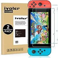 iVoler [2 Stuks] Beschermfolie Compatibel met Nintendo Switch Screen Protector, Film van Gehard Glas Schermbeschermer…