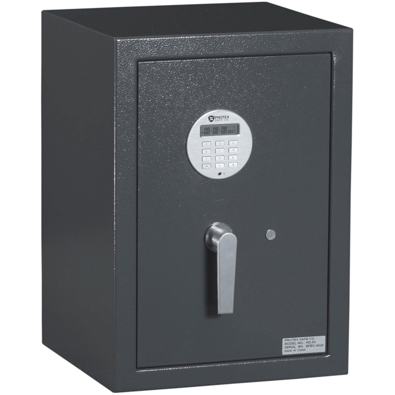 Protex HD-100 Large Electronic Burglary Safe, Gray