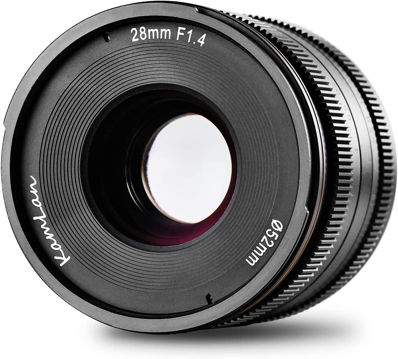 Kamlan 28mm F1 4 Aps C Große Blende Manueller Fixfokus Kamera