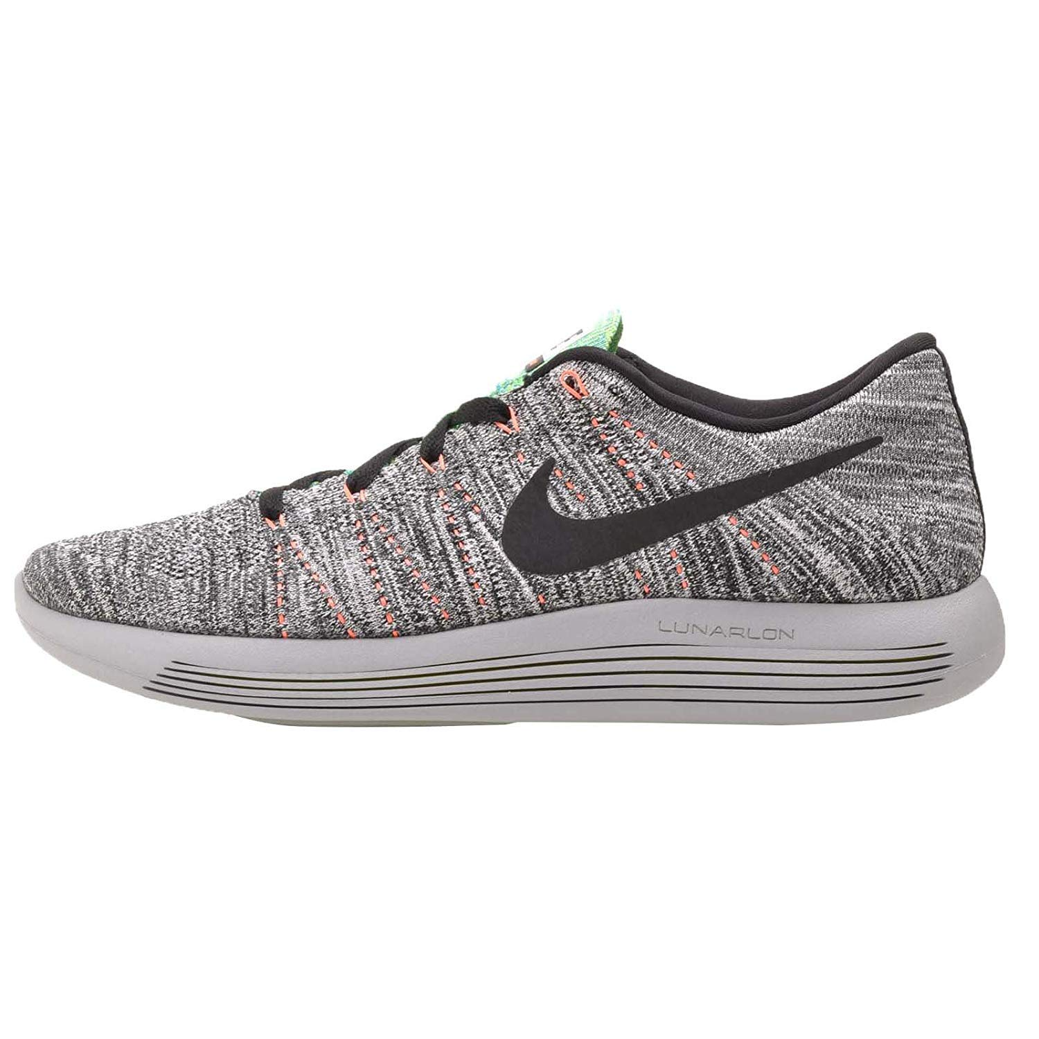 best website 978d0 be5f9 Mens Nike LUNAREPIC Low Flyknit Running Trainers 843764 100 (UK 8.5)   Amazon.co.uk  Shoes   Bags