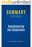 Summary: Reengineering the Corporation: Review and Analysis of Hammer and Champy's Book
