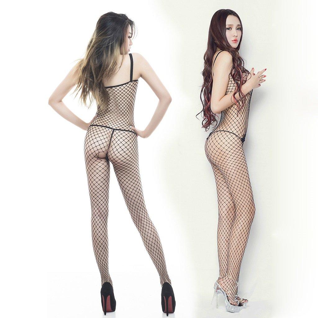 59b8436b30a Amazon.com  Sexy underwear sexy lingerie open file fishnet stockings black  temptation women s sexy pants  Home   Kitchen