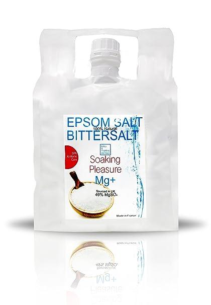 Mejoras Sales Epsom Puras - Magnesio Natural 99% - bolsa 10 kg ○ Eliminar las