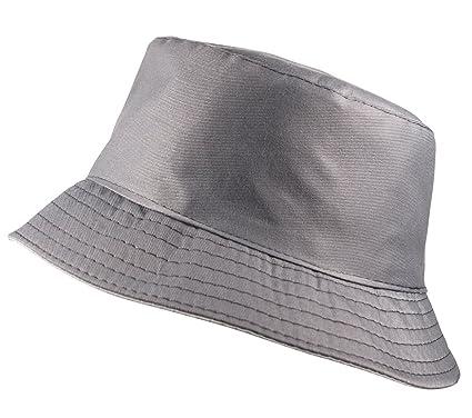 e88510a1440 Itzu Classic Bucket Bush Hat Plain Adult Unisex in Grey  Amazon.co.uk   Clothing
