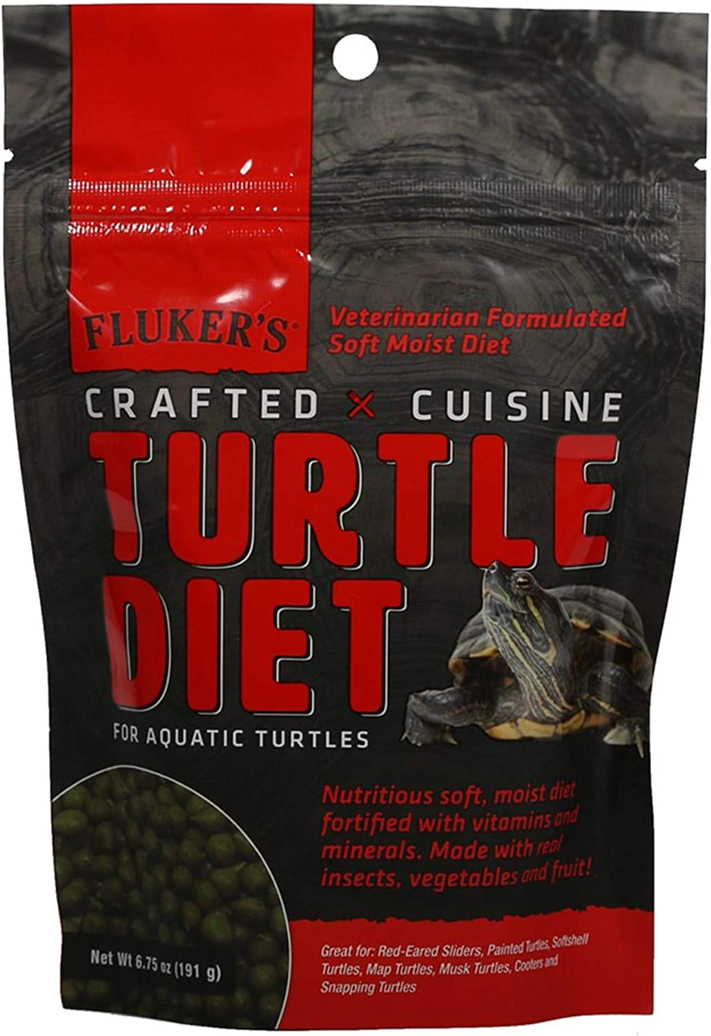 Fluker's New Crafted Cuisine Turtle Diet (6.75 oz.)