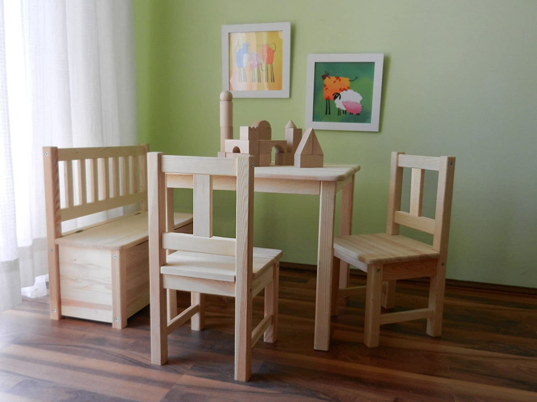 Best Of Jam® Lätt Europea de madera de pino maciza madera 1 mesa 2 ...