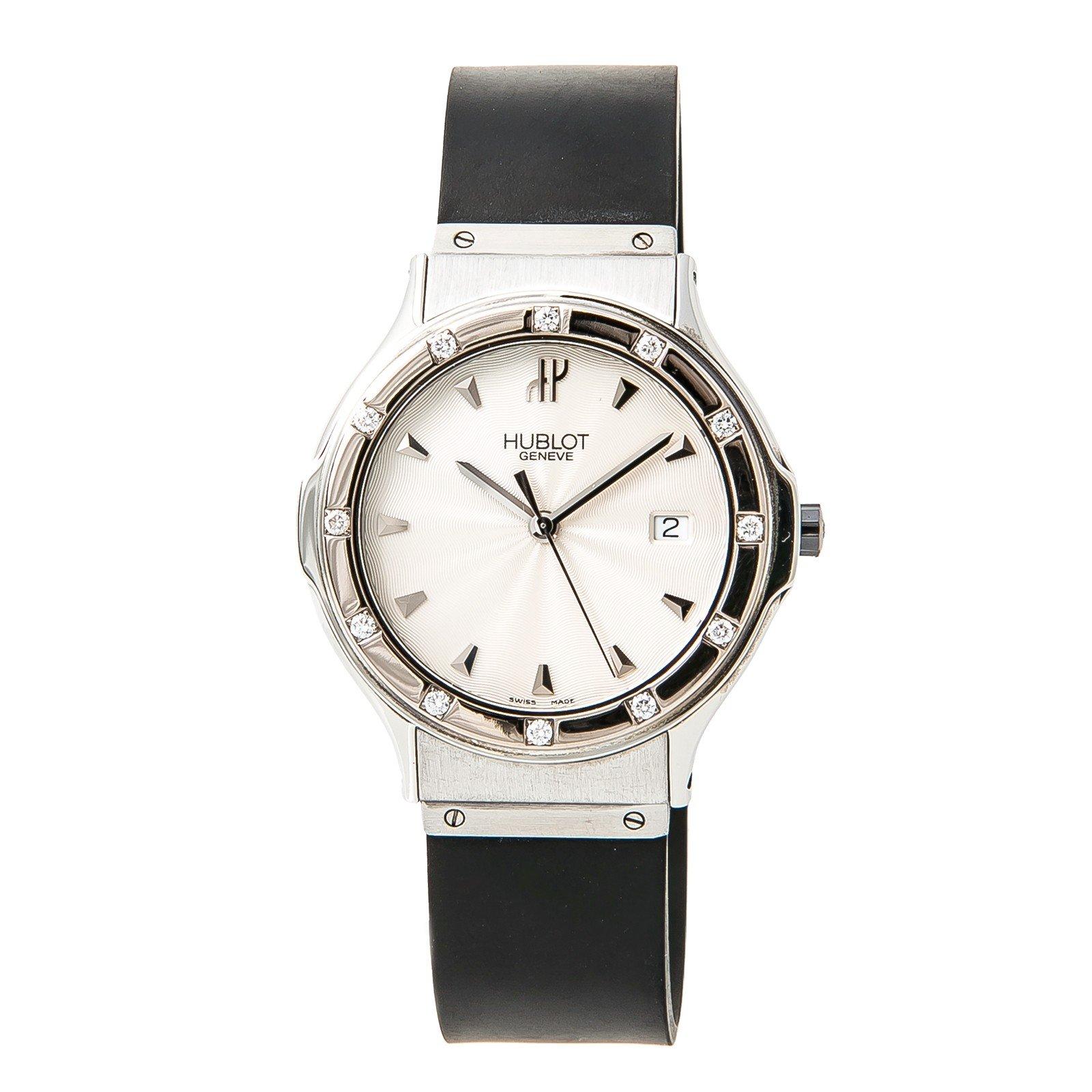 Hublot MDM quartz womens Watch 1525.11.044 (Certified Pre-owned)