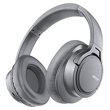 Mpow H7 Cascos Bluetooth Inalámbrico, Auriculares Bluetooth de Diadema, 18hrs de Duración de la Batería, Auriculares Inalámbricos Cerrados con ...