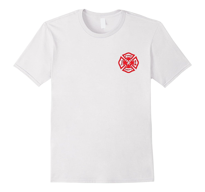Fire Department Uniform T-Shirt - Official Firefighter Gear-FL