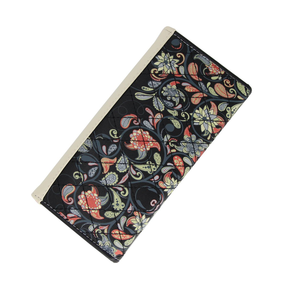 Womens Leather Wallet Purse Handbag Floral Money Clips Credit Card Case Holder by Uopen Endy (Image #8)