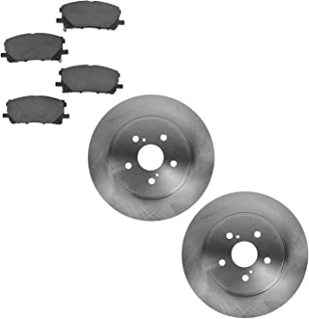 Brake Pads Semi-Metallic Front for Lexus RX330 RX350 RX400h Toyota Highlander