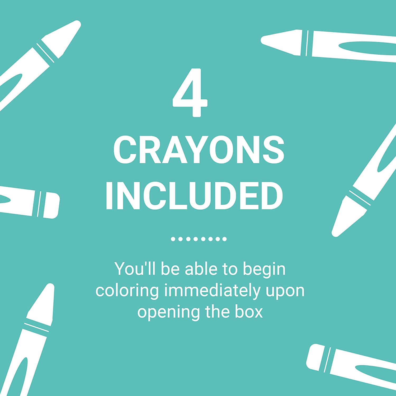 Unicorn Magic Mini Coloring Roll