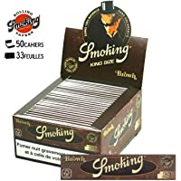 Smoking 012008.01 Cartine King Size Marrone