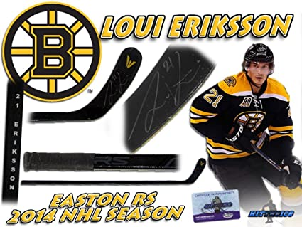 quality design 4b7ac 8cbc9 LOUI ERIKSSON Signed BOSTON BRUINS Game Used Stick w/COA ...