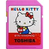 SDHC カード 東芝 class10 クラス10 UHS-I 30MB/s HELLO KITTY パッケージ品 (8GB) [並行輸入品]