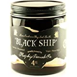 Flagship Pomade Co. Black Ship Heavy Water Based Vegan Pomade 4oz