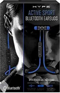 HYPE Active Sport Bluetooth Earbuds (Blue)
