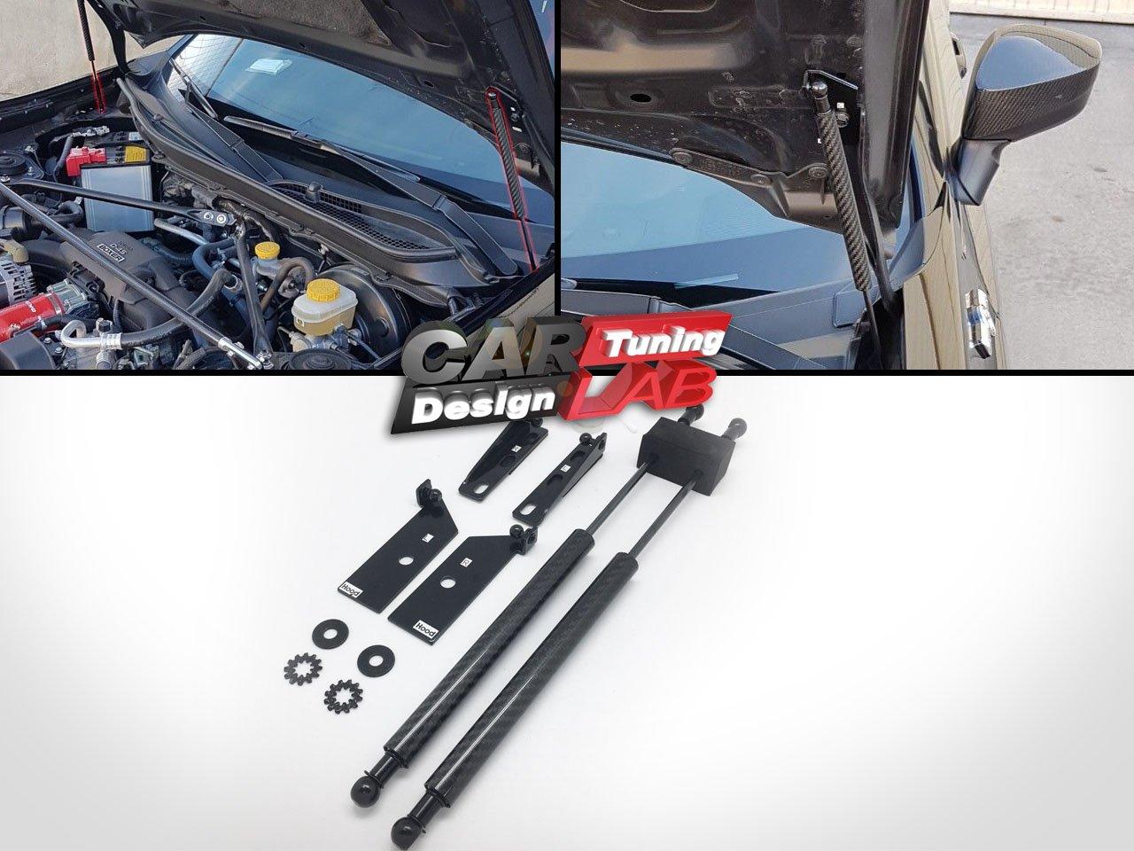 Carbon Fiber Bonnet Hood Damper Kit Strut Shock For GT86 BRZ 86 CarLab