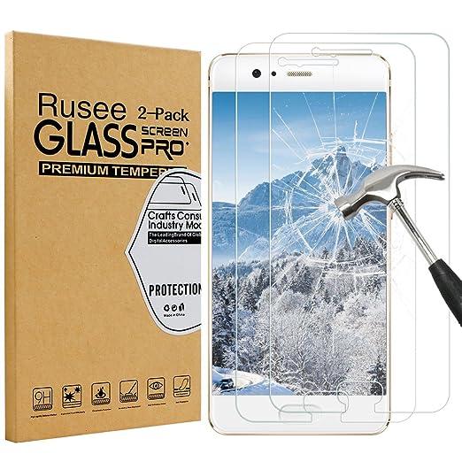 87 opinioni per [2 Pack] Huawei P10 Pellicola Protettiva, Rusee Pellicola Protettiva in Vetro