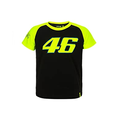 Valentino Rossi Vr46 Kid 46 T Shirt 6 7 Yrs Amazon De Bekleidung