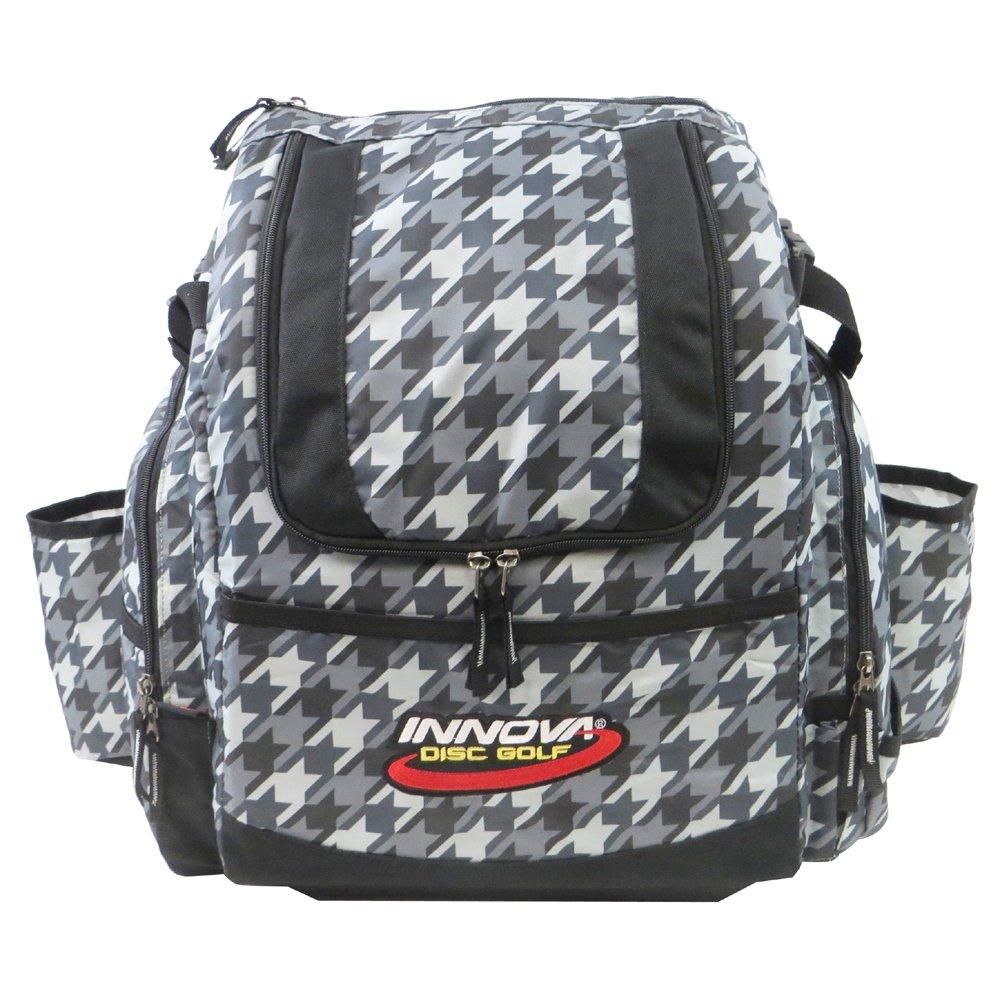 INNOVA HeroPack Backpack Disc Golf Bag (Houndstooth) by INNOVA