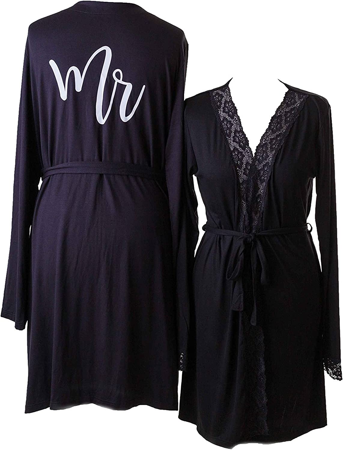 Matchimony MR /& MRS Cotton Dressing Gown