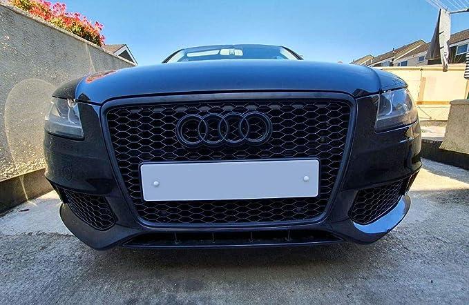 Grille Calandre Audi A4 B8 08-11 noir brillant look RS