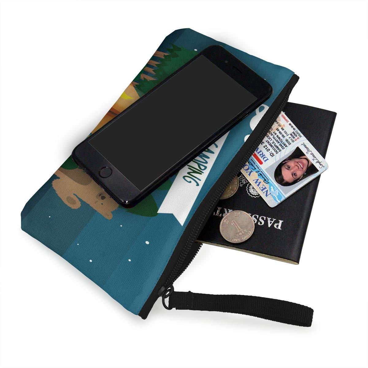 Monedero Full HD papel pintado para mujer con cremallera de ...