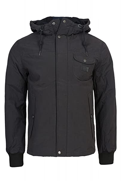 Lee Zip Hood Jacket-Chaqueta Hombre Negro S: Amazon.es: Ropa y accesorios