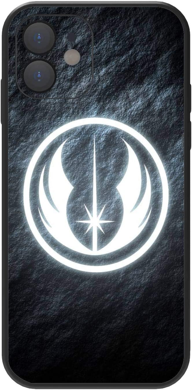 Designed for iPhone 12 Case Star Wars [Military Grade Drop Protection][Shockproof Protective Phone Case] Premium Soft TPU Full-Body Protective case