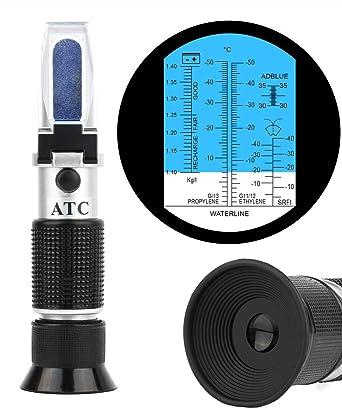 Battery Automotive Refractometer ATC Antifreeze Ethylene Glycol /& Battery Fluid