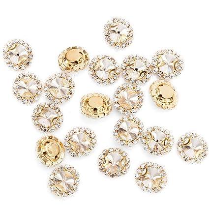 Amazon.com  Premium Crystal Rhinestones Sew on 3b623f0cc6ac