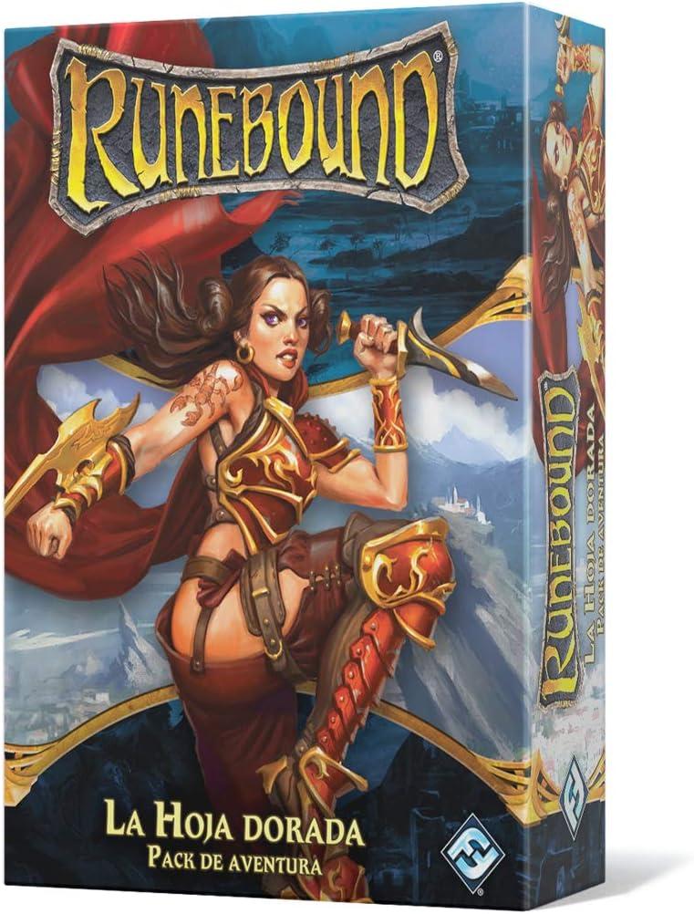 Fantasy Flight Games-La Hoja Dorada-Pack de Aventuras runebound ...