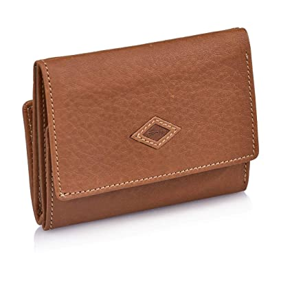 Cartera-Monedero de Piel Marca Cross 332 (Cuero): Amazon.es ...