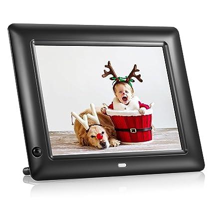 Amazon.com : NEXGADGET 8 Inch Digital Photo Frame With Motion Sensor ...