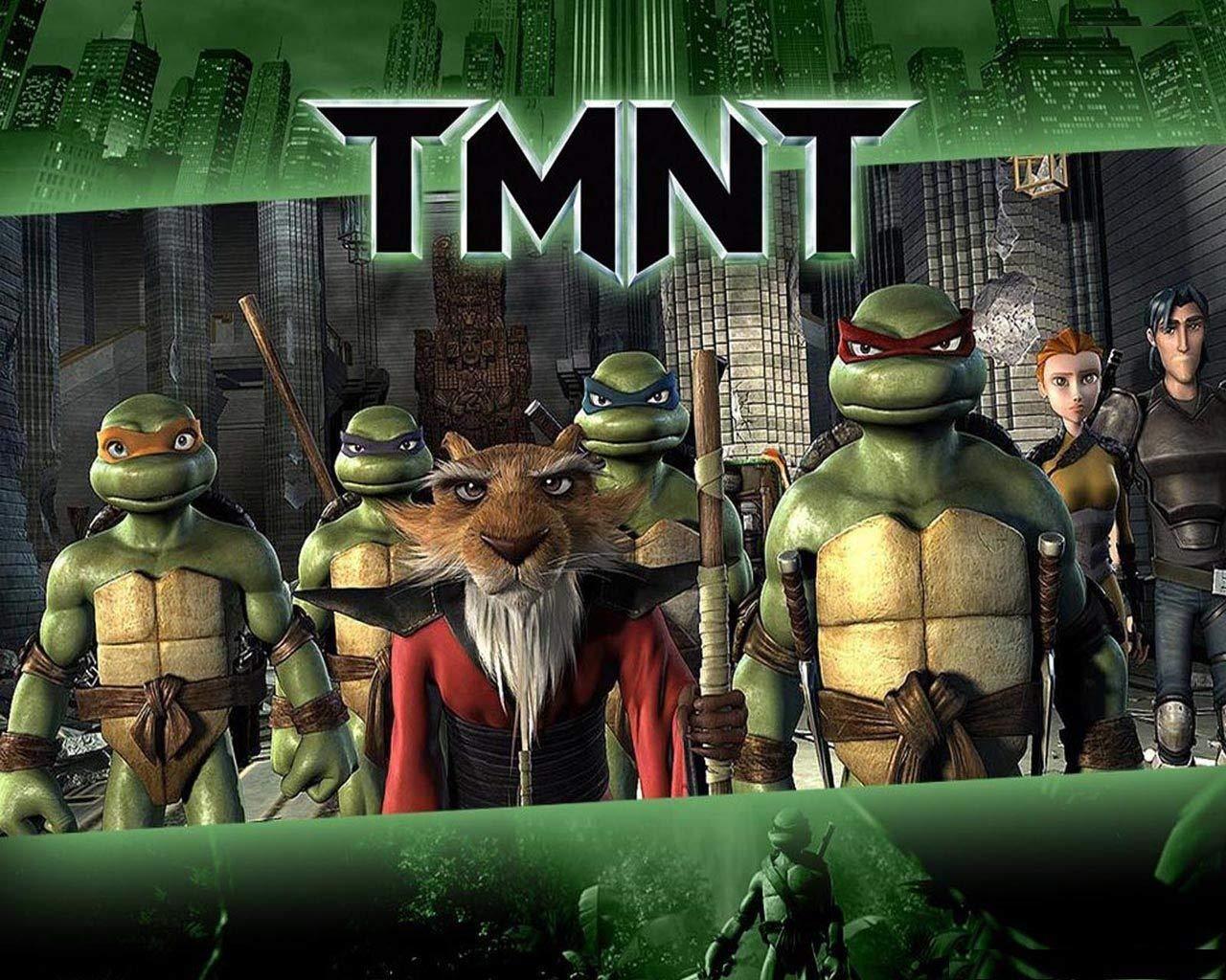 Teenage Mutant Ninja Turtles TMNT Leonardo Donatello Raphael ...